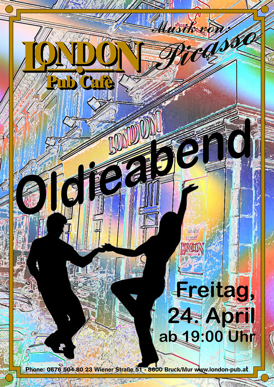 Oldieabend Plakat